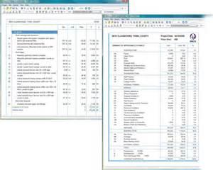home design software cost estimate vector