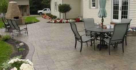 concrete patio designs layouts patio designs placement and layout plans the