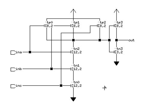 transistor level and gate rom