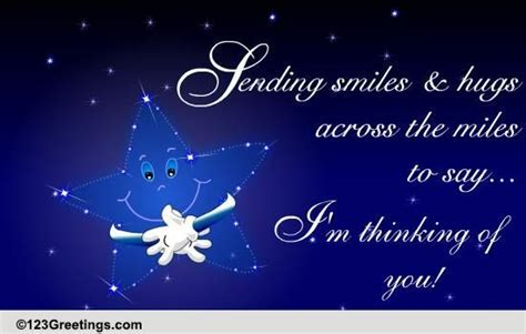 Sending Smiles And Hugs  Free Miss You eCards, Greeting