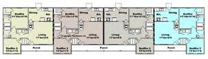4 Plex Apartment Plans Access Garage Plans Nm Desmi