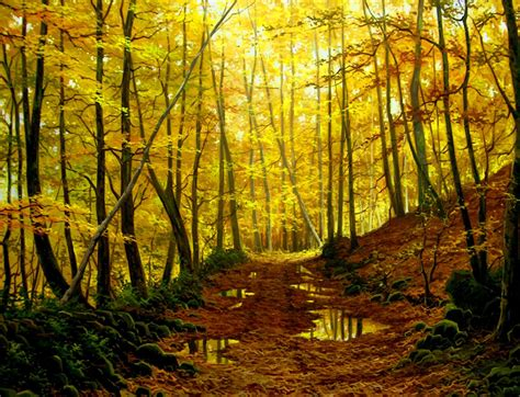 imagenes de paisajes oleo pinturas cuadros lienzos paisajes realistas 211 leo