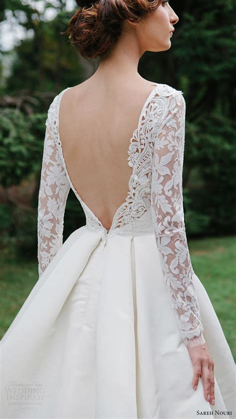 Fall Style Wedding Dresses by Sareh Nouri Fall 2016 Wedding Dresses Lookbook Wedding