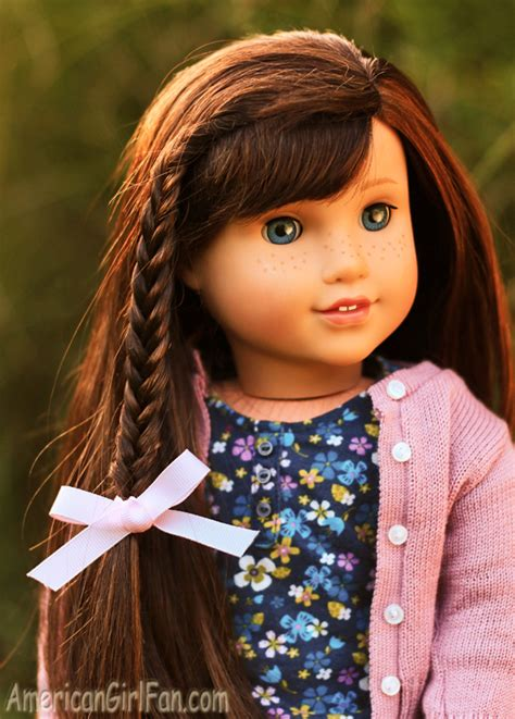 american girl hairstyles grace americangirlfan doll hairstyles