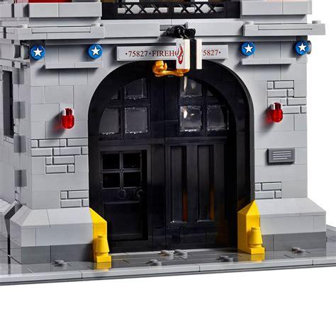 Brick Lepin 16032 Ghostbusters Ecto 1 2016 toyzmag 187 lego d 233 tails du qg de ghostbusters sos