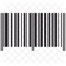 barcode icon  glyph style   svg png eps