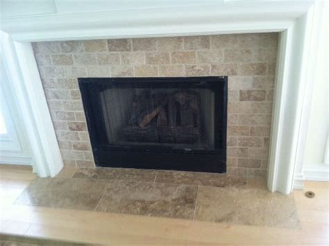 Travertine Fireplace Travertine Fireplace Hearth