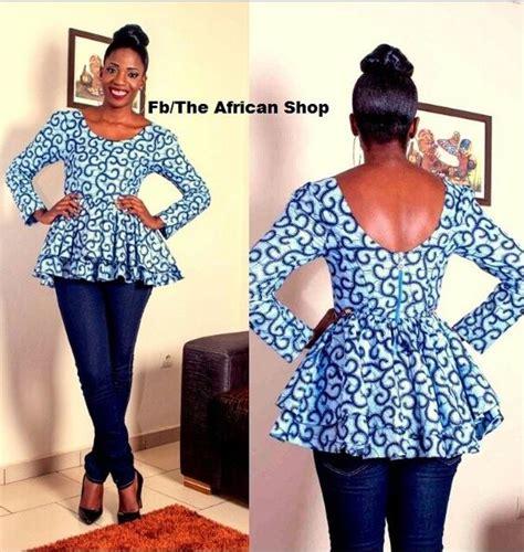 peplum styles for materninty with ankara girl yessss african fashion pinterest peplum tops