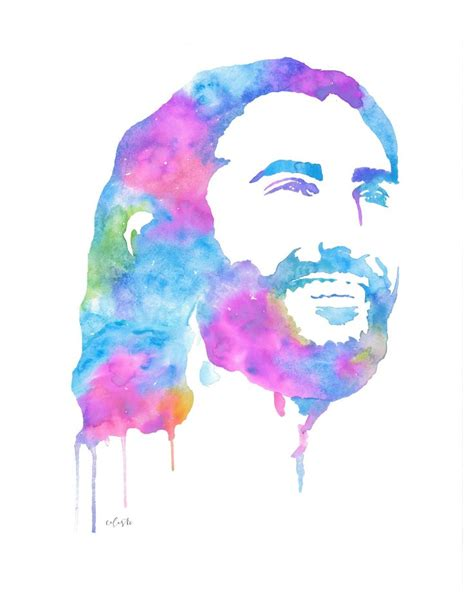 watercolor tattoo jesus best 25 sons name tattoos ideas on