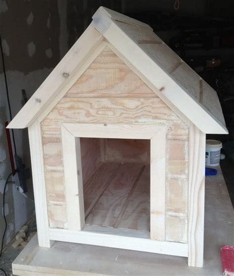 how to build a dog house easy and cheap dog house drawing and materials list easy build plans doghouse dr dog house plans free