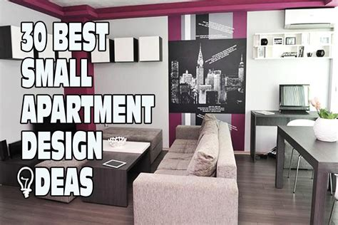 how to design a small apartment 30 best small apartment design ideas youtube
