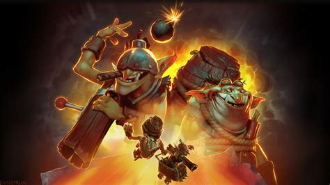 dota 2 techies wallpaper hd squee spleen and spoon the techies dota 2 wallpapers