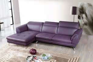 purple leather sofa top grain purple or white sectional sofa tufted seats