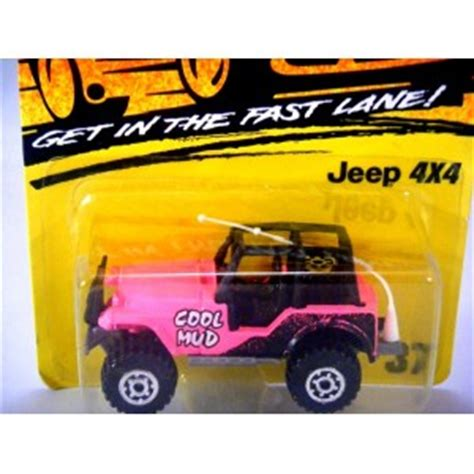 cool pink jeep matchbox jeep 4x4 cool mud pink global diecast direct