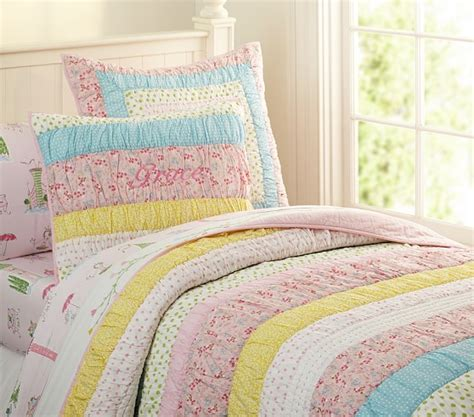 grace quilted bedding pottery barn