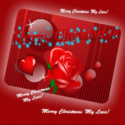 merry christmas  roses    love ecards greeting cards