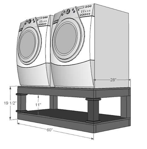 Laundry Pedestal Alternative endless options laundry room