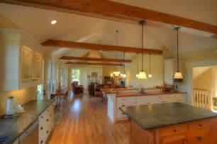 craftsman cottage open living spaces craftsman