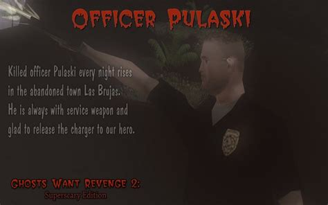 officer pulaski image ghosts  revenge  superscary