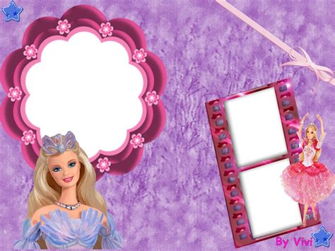 Barbie free printable photo frames is it for parties is it free