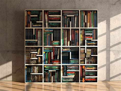 modular typographical bookcase i this it can hold