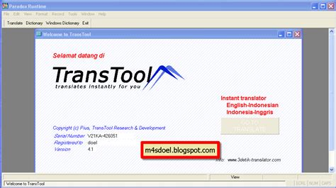 download tutorial bahasa inggris mp3 transtools 9 full portable kamus terjemahan m4sdoel blog