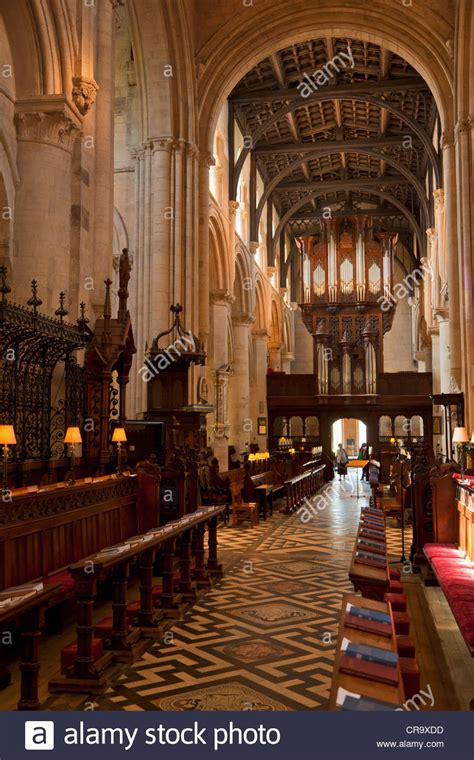 Oxford Interiors by Church College Cathedral Interior Oxford