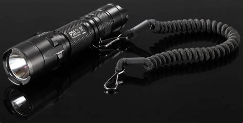 Senter Nitecore P10 nitecore tactical lanyard ntl10 black