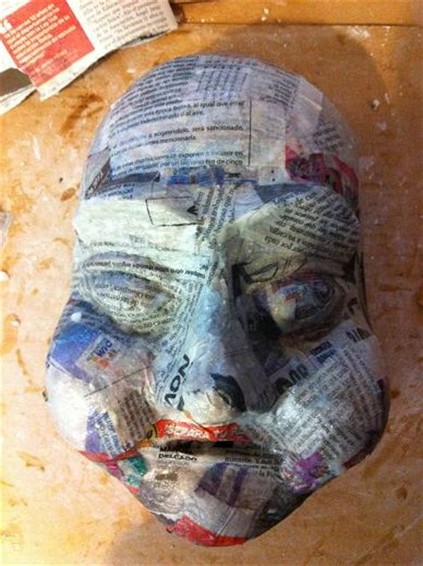 How To Make An Mask Out Of Paper - 23 cool paper mache mask ideas guide patterns