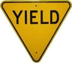 yield sign color yield sign color clipart best
