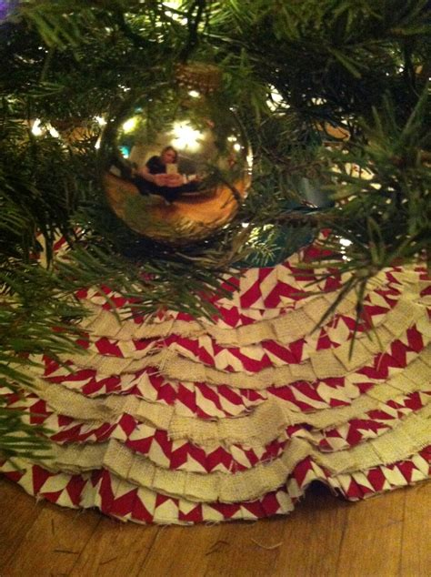 pattern burlap christmas tree skirt 234 best images about sewing christmas tree skirts on