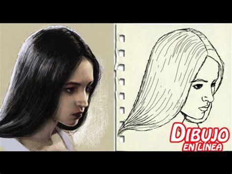 xomo sombrear la cara de una mujer como dibujar la cara agachada en tres cuartos mujer youtube