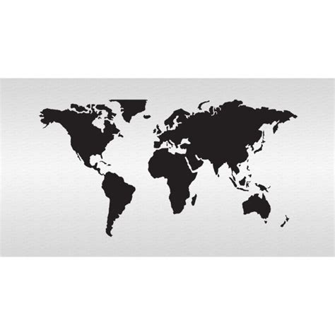 world map stencil world map stencil 5 3 4 quot