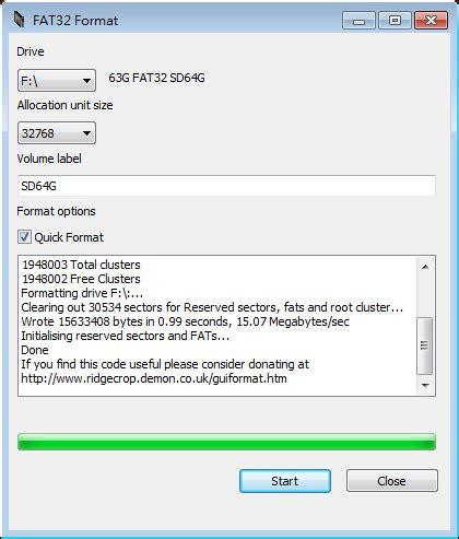 format fat32 allocation unit size 將 64gb 的 microsd 卡格式化為 fat32 給手機使用 g t wang