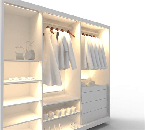 closet lighting solutions design vignettes