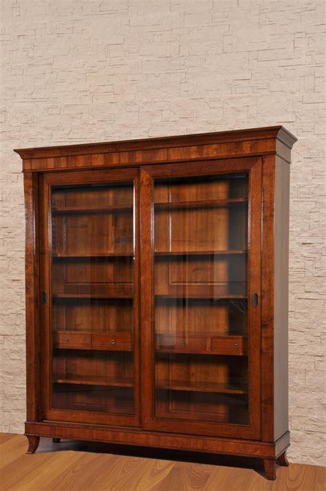 librerie in stile libreria classica costruita in stile direttorio a due ante