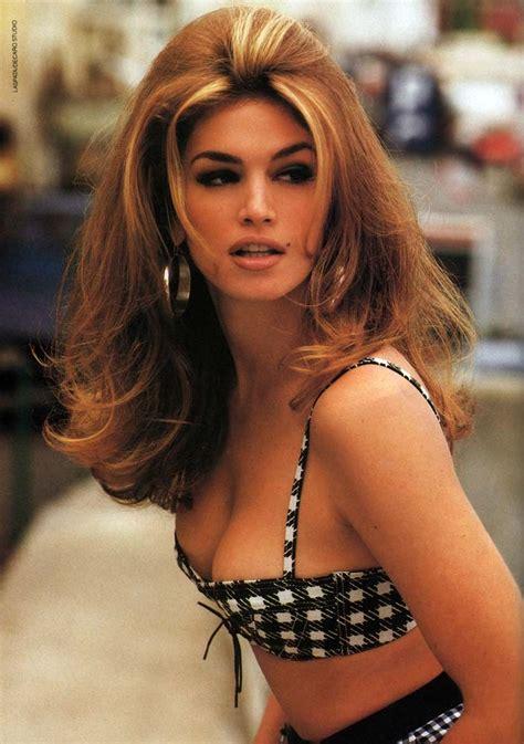 do any playboy models have burgundy hair cindy crawford supermodel fashionsizzle