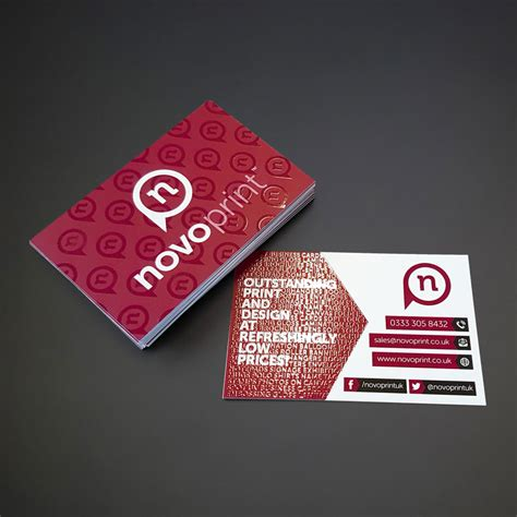 Uv Spot Business Cards Cheap get affordable spot uv business cards at novoprint