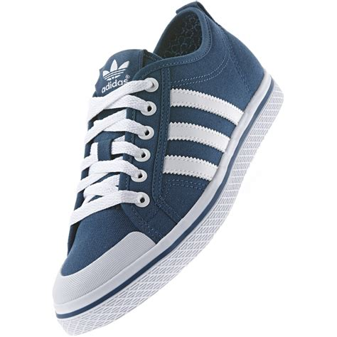 new womens adidas originals honey stripes low navy blue
