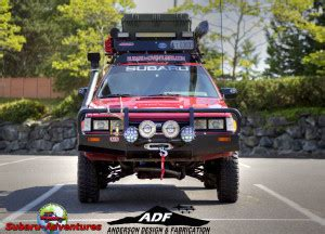 subaru loyale offroad 6 lift ea82 build instructions by anderson design