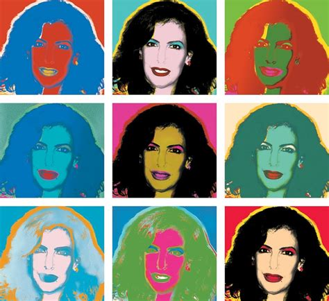 andy warhol style custom andy warhol style personalised pop canvas