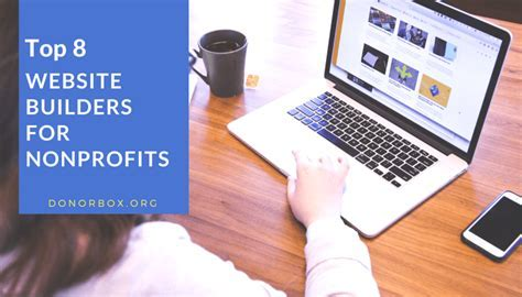 8 Best Non Profit Website Builders   Non Profit Blog