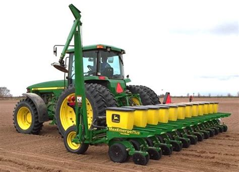 Deere Maxemerge Planter For Sale by Deere 1730 Integral Narrow Row Planter Integral