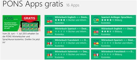 Spanisch Für Badezimmer by Pons W 195 182 Rterb 195 188 Cher Und Sprachkurse F 195 188 R Windows 8 Rt