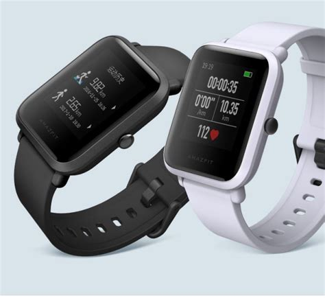 Smartwatch Bipbip huami launches smartwatch amazfit bip lite