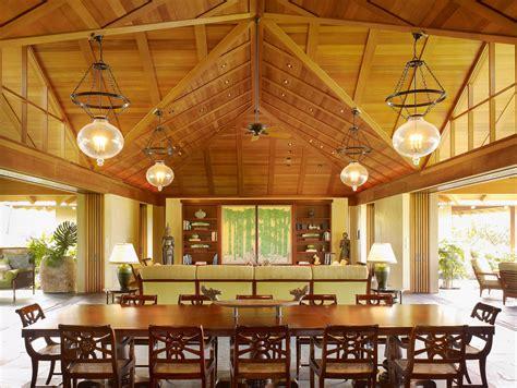 big island vacation home tropical dining room hawaii