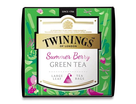 Twinings Green Tea Collection twinings teashop discovery collection summer berry green tea pyramid tea bags at twinings teashop
