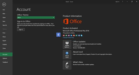 Microsoft Black Themes | how to enable black theme in microsoft office 2016