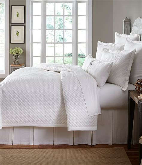 pique coverlet southern living heirloom quilted cotton piqu 233 coverlet
