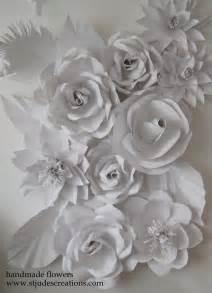 wedding backdrop paper flowers wedding backdrop flowers handmade paper flowers by noble